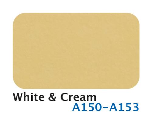 A150-A153 White and Cream