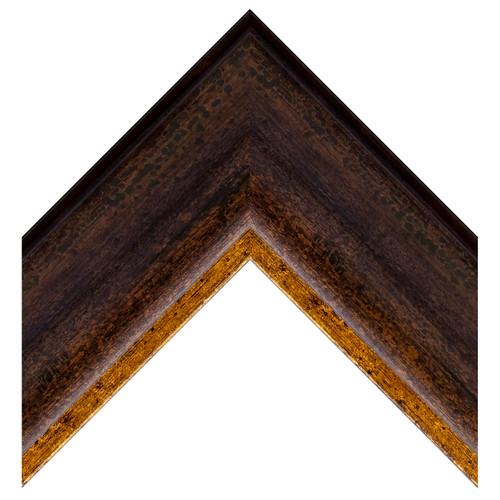 Bronze w/Gold Lip Reverse Curve