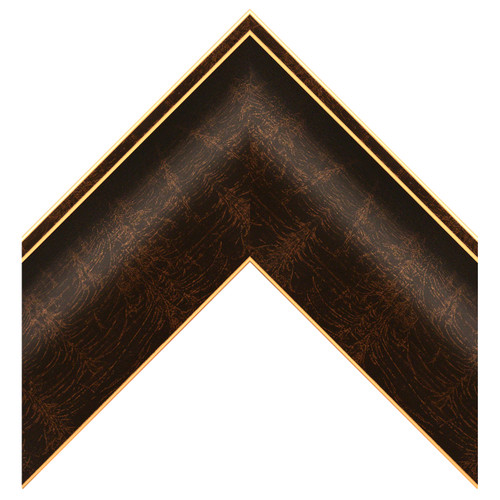 """3"""" Brown & Gold Poly Scoop"""