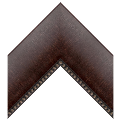 Brown Large Poly Scoop w/Beaded Lip [510-1007]