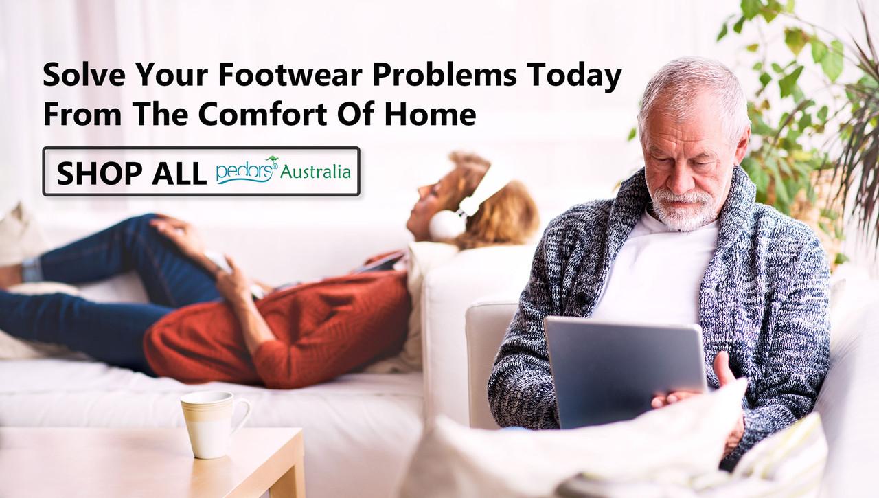 Pedors Australia Orthopaedic Stretch Shoes For Swollen Feet Edema Lymphedema Corns Bunions Hammertoes Arthritis Plantar Fasciitis