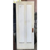 "D17138 - Antique Pine Two Vertical Panel Door 30-1/4"" x 80"""
