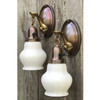 L17233 - Pair of Antique Colonial Revival Sconces