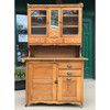 F17130 - Antique Hoosier Style Bakers Cabinet