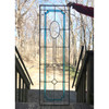 G18017 - Antique Stained & Clear Glass Window