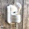 L18058 - Antique Porcelain Bare Bulb Bathroom Sconce