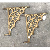 S18024 - Pair of Antique Cast Iron Brackets