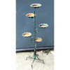 A18108 - Vintage Wrought Iron Five Tier Planter Frame