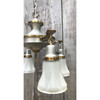 L18088 - Antique Four Arm Pan Light Fixture