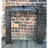 M18010 - Antique Fireplace  Insert Surround