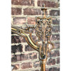 L18100 - Antique Tudor Revival Bridge Lamp