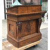 F18101 - Antique Quartersawn Oak Colonial Revival Style Podium
