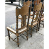 F18142 - Set of Six Late Victorian Quartersawn Oak Dining Chairs