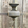 L18165 - Antique Arts and Crafts Two Arm Light Fixture