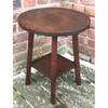 F19007 -  Antique Arts and Crafts Oak Side Table