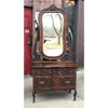 "F19013 - Antique Colonial Revival Oak ""Princess""  Dresser"