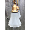 L19017 - Antique Colonial Revival Four Arm Hanging Pan Fixture
