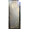 "D19003 - Antique Victorian Era Pine Four Panel Interior Door 29-1/2"" x 87"""