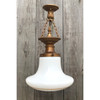 L19056 - Antique Neoclassical Style Schoolhouse Fixture