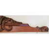 S19007 - Antique Carved Oak Crest