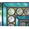 G19116 - Antique Victorian Leaded Glass Window