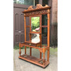 F19173 - Antique Hall Stand with Mirror