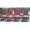 F19076 - Vintage Set of 8 Dining Chairs