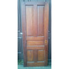 "D19100 - Antique Varnished Pine Five Traditional Raised Panel Interior Door 30"" x 77"""