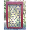 G19133 - Antique Arts and Crafts/Art Deco Stained Glass Window