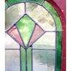 G19136 - Antique Arts and Crafts/Art Deco Stained Glass Window