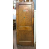 "D19121 - Antique Varnished Pine Two Traditional Panel Interior Swinging Door 32"" x 79-1/2"""