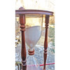A19074 - Vintage Hourglass in Walnut Frame