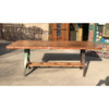 F20005 - Custom Live Edge Cherry Industrial Conference/Dining Table
