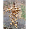 A20010 - Vintage Wrought Iron Mid Century Candelabra