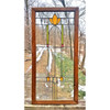 G20011  - Antique Stained and Beveled Glass Window