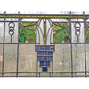 G20020 - Antique Prairie Style Stained & Textured Glass Window
