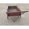 A20022 - Antique Wood & Wrought Iron Cart
