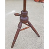 F20027 - Antique Poplar Adjustable Candle Stand