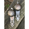 H20024 - Antique Cast Iron Door Hardware Set