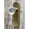 H20032 - Antique Knob and Backplate Set