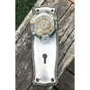 H20033 - Antique Knob and Backplate Set