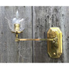 L20110 - Antique Victorain Gas Wall Sconce