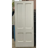 "D20124 -  Antique Interior Four Panel Door 34"" x 82-1/2"""