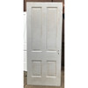 "D20125 - Antique Int/Ext Four Panel Door 31-3/4"" x 76-3/4"""