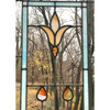 G20054 - Antique Stained and Glass Window