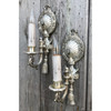 L21010 - Pair of Antique Shell Sconces