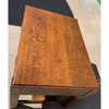 F21049 - Antique Oak Arts & Crafts Library Table
