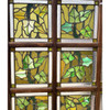 G21017 - Partition with 12 Ivy leaded Glass Panels