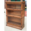 F21076 - Antique Three Stack Barrister Bookcase