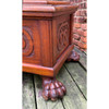 F21104 - Antique Carved Griffin Blanket Chest
